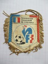 fanion pennant ancien football club FEDERATION FRANCAISE DE FOOTBALL