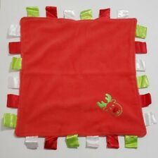 Green Sprouts Christmas Tagged Baby Security Blanket Red Green White Reindeer