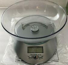 Electronic Digital Food Scale & Bowl Real Appeal Measure portion food Weight New