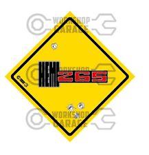 HEMI CHRYSLER VALIANT - Badge Style Stickers - HEMI 265 Roadsign #10