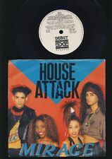 Mirage - House Attack - Here is the House - 7 Inch Vinyl Single - UK