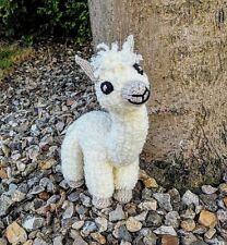 Eli the Alpaca KNITTING PATTERN to make a soft toy