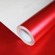 Allvi Car Wrapping Film Satin Chrom Hot Red Rot Auto Folie FlexChrome 17,92€/m²