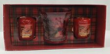 Yankee Candle Sparkling Cinnamon Candle Set