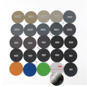 "1""(25mm) Wet Or Dry Sandpaper Round Sanding Discs 60-10000 # Grit For car repair"
