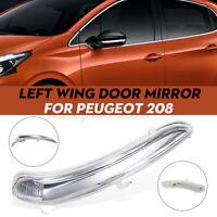 Fanalino Freccia Specchio Retrovisore Sinistro Per Peugeot 208 2008 2012-2017