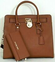 🌞MICHAEL KORS HAMILTON LARGE SAFFIANO LEATHER LUGGAGE TOTE BAG +/OR WALLET🌺NWT