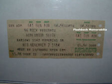 Honeymoon Suite Unused Concert Ticket 1984 Harlows Atlanta Georgia Very Rare