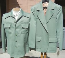 Vintage 1970s Nwt 2 pc Ensemble 40R - Matched Disco Leisure Jacket & Shirt Jac