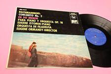 ORMANDY RACHMANINOFF LP CONCERTO N 2 ORIG '60 COLUMBIA ALTA FEDELTA' 200g GROOVE