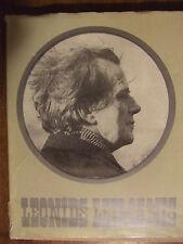 Vintage Latvian Book '' Leonīds LEIMANIS Latvian motion picture director '' 1980