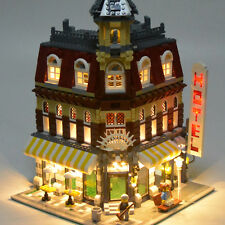 LED Kit ONLY For LEGO Make & Create Cafe Corner Hotel 10182