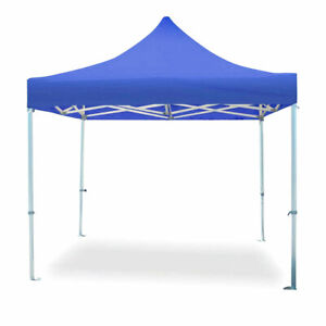 Speedy Pop Up Canopy Tent Blue Instant Commercial Water Resistant 10x10 Shelter