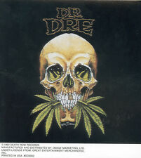 DR DRE - SKULL CHRONIC - STICKER/DECAL - BRAND NEW VINTAGE - MUSIC WEED 048