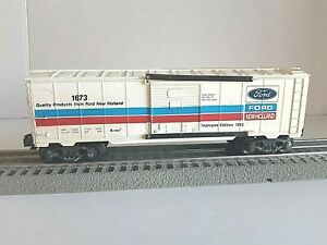 K-Line No. 1673 Ford Holland Boxcar Employee Edition 1992
