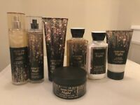 Bath & Body Works INTO TH NIGHT Mist Body Cream Lotion Body Wash Scrub Pick 1