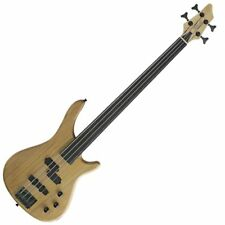 Stagg BC300FL-NS Fretless 4 cordes Fusion Electric Bass Guitar-naturel