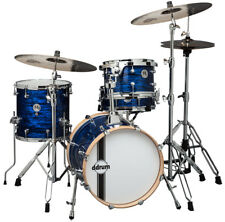 dDrum 4-Piece SE Series Flyer 1.6mm Basswood Shell Drum Set - Blue Pear Finish