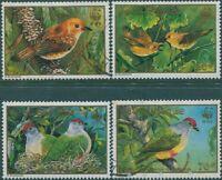 Cook Islands 1989 SG1222-1225 Endangered Birds set FU