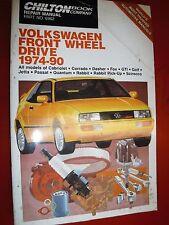 1974 1990 Vw Quantum Dasher Rabbit Pick Up Jetta Chilton Repair Manual Service