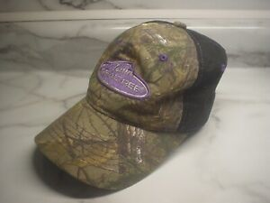 Team Realtree Women's Hat, One Size Fits Most, Black Camo, Ball Cap, Adjustable
