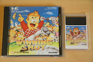 Winning Shot Jeu NEC PC Engine Hucard import JAP cib