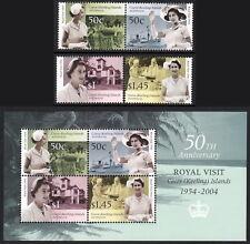Cocos (Keeling) Islands 2004 Royal Visit - 50th anniversary set & s/sheet