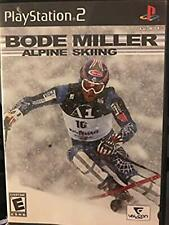 Bode Miller Alpine Skiing (Sony PlayStation 2, 2006) *pre-owned*