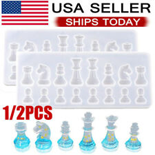 DIY Silicone Resin Chess Mold Tool  Jewelry Pendant Making  Mould Craft Handmade