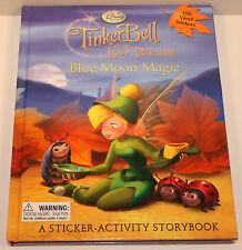 Tinkerbell Tinker Bell Lost Treasure Blue Moon Magic Window Cling Sticker Book