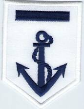 écusson ECUSSON PATCH THERMOCOLLANT GALLON ANCRE MARINE BLANC ET BLEU