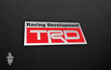 Toyota TRD Racing Developments Sticker - Toyota | Hilux | Corola | Supra | MR2