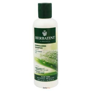 Herbatint Normalizing Shampoo Aloe Vera 8.79 fl oz