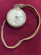 Vintage Westclox Scotty Pocket Watch, Shock Resistant-Working