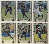 2017 Panini Prizm Silver Seattle Seahawks Football Cards Lot of 6 Sherman Wagner