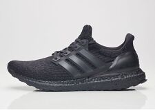 Adidas Ultra Boost 3.0 Triple Black BA8920 Size 9.5 - nmd yeezy pirate apple red