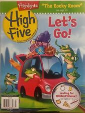 Highlights High Five July 2017 Let's Go Looking Hidden Pictures FREE SHIPPING sb