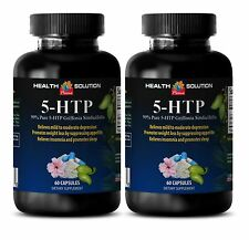 L-Tyrosine - 99% PURE 5-HTP 100mg - Pure Bean Extract - Boosts Concentration -2B