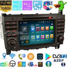 DAB+Autoradio Mercedes Benz C/CLC/CLK W203 W209 W203 Android 9.0 8-core WIFI+4G