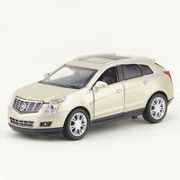 1/32 Cadillac SRX SUV Metall Die Cast Modellauto Auto Spielzeug Pull Back