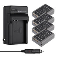 BLN-1 Li-Ion Battery & Charger For Olympus E-M1 E-M5 EM5II, PEN E-P5 ,Pen F OM-D