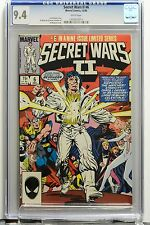 SECRET WARS Vol 2 # 6 CGC 9.4 NM Joe ShooterStory Marvel