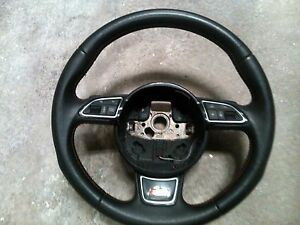 AUDI A1 8X Multifunction Steering Wheel S-line 8X0419091L PADDLE SHIFT
