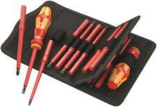 Wera Kraftform Kompakt VDE 18 Insulated Screwdriver Blade Set 05347108001