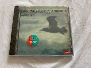 L'Apocalypse Des Animaux Par Vangelis (CD, 1988, Polydor) Neuf