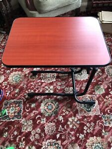 NRS Healthcare Adjustable Over Bed Table - Used - M15691