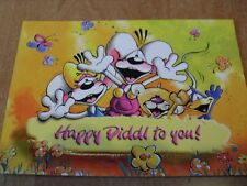 Diddl Postkarte Happy Diddl to you Roadshow