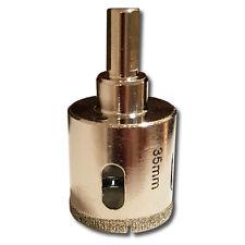 Kent 35mm Diameter Diamond Coated Core Drill Bit