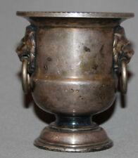 Vintage England Viners Of Sheffield Silverplated Goblet Vase Candle Holder