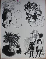 Guillaume CORNEILLE - Lithographie lithograph COBRA début 1960+